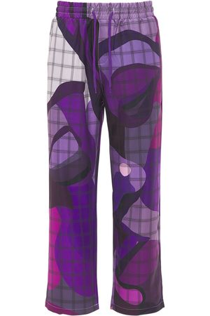 KIDSUPER STUDIOS Face Drawstring Printed Pants