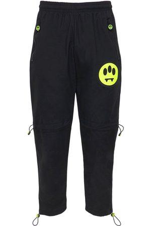 BARROW Nylon Sweatpants W/ Logo Detail