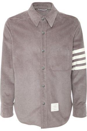 Thom Browne Dyed Cotton Corduroy Shirt Jacket