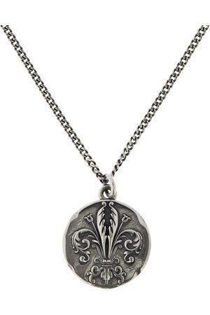 EMANUELE BICOCCHI Lily Coin Pendant Chain Necklace