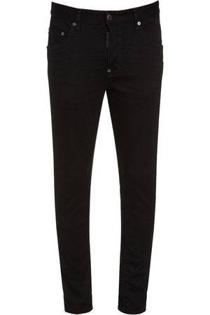 Dsquared2 16.5cm Skater Bull Cotton Denim Jeans