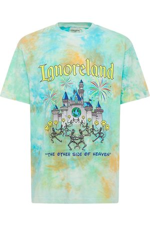 LIFTED ANCHORS Ignoreland Print Cotton T-shirt
