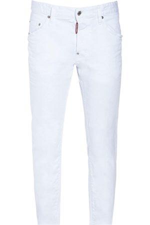 Dsquared2 16cm Skater Bull Cotton Denim Jeans