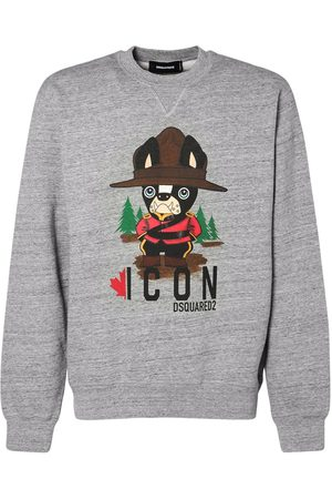 Dsquared2 Icon Ciro Print Jersey Sweatshirt