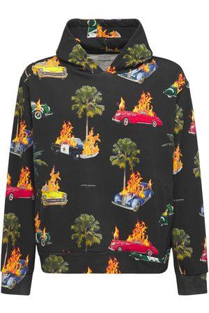 LIFTED ANCHORS Rideshare Print Cotton Sweatshirt Hoodie