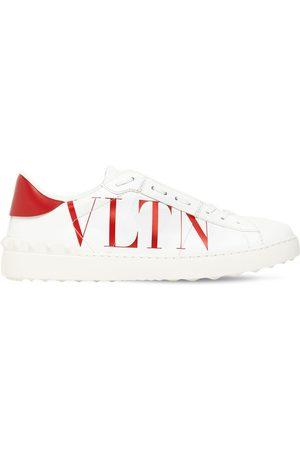 "VALENTINO GARAVANI Vltn ""open"" Leather Sneakers"