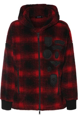 Dsquared2 Hooded Tech Check Zip Jacket