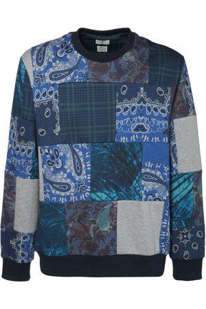Etro Upcycled Patchwork Jersey Sweatshirt
