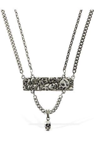 Alexander McQueen Multi-skull Long Necklace