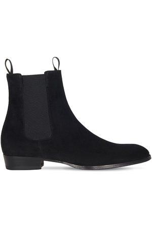 Giuseppe Zanotti 15mm Atlanta Suede Chelsea Boots