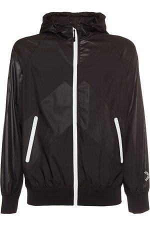 Kenzo Nylon Hooded Sport Windbreaker