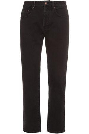 Kenzo Cropped Cotton Denim Jeans