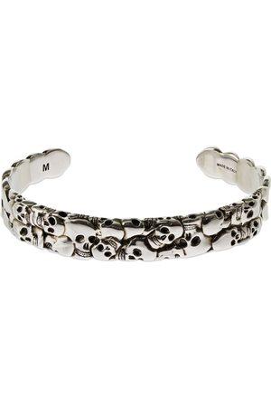 Alexander McQueen Multi-skull Cuff Bracelet