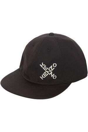 Kenzo Techno Canvas Baseball Hat W/logo