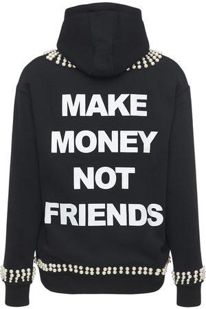 MAKE MONEY NOT FRIENDS Men Hoodies - Zip-up Cotton Blend Sweatshirt Hoodie