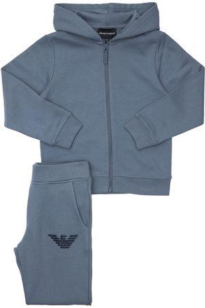 Emporio Armani Cotton Sweatshirt Hoodie & Sweatpants