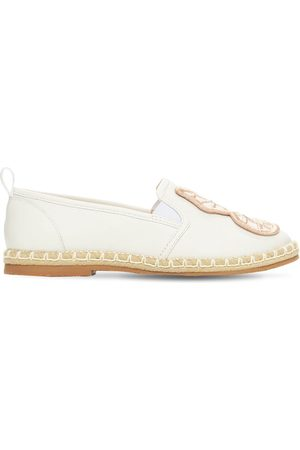 SOPHIA WEBSTER Butterfly Leather Espadrilles