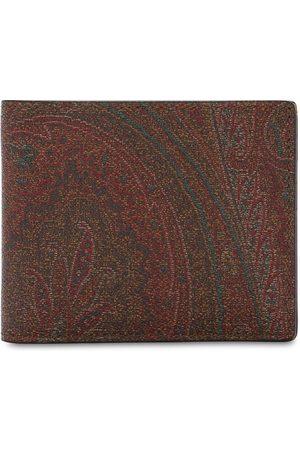 Etro Paisley Print Cotton Blend Wallet