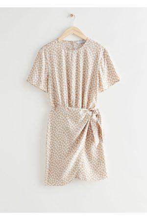 & OTHER STORIES Women Party Dresses - Knot Detail Mini Dress