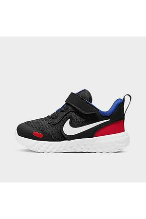 Nike Boys' Toddler Revolution 5 Hook-and-Loop Running Shoes in / Size 4.0 Knit