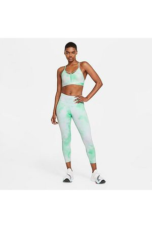 Nike Women's One Icon Clash Leggings in / Glow Size X-Small Polyester/Spandex/Knit