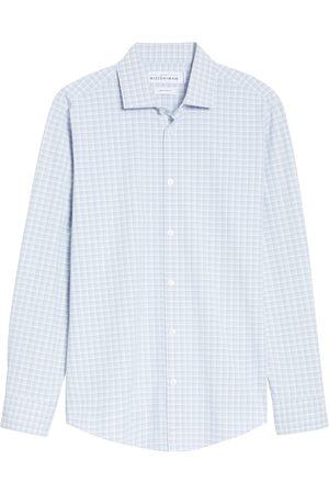 Mizzen+Main Men's Mizzen + Main Leeward Trim Fit Button-Up Performance Shirt