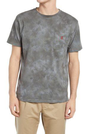 Gramicci Men's One Point Tie Dye T-Shirt