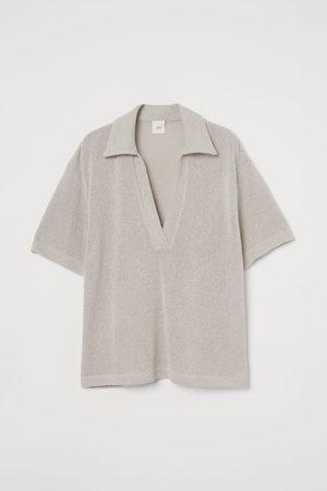H&M Slub-knit Top