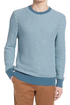 CLUB MONACO Men's Texture Stitch Cotton Sweater