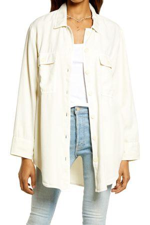 Treasure & Bond Women's Women's Lightweight Shirt Jacket