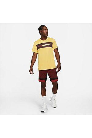 Nike Men's Sport Clash Logo Shorts in /Dark Cayenne