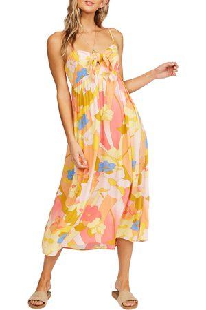 Billabong Women Midi Dresses - Women's Twist It Knot Front Midi Dress