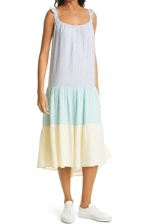 Rails Women's Capri Stripe Linen Blend Dress