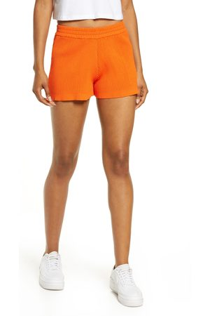 BY.DYLN Women's By. dyln Eadie High Waist Rib Shorts