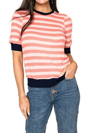 GIBSONLOOK Women's Camden Stripe T-Shirt