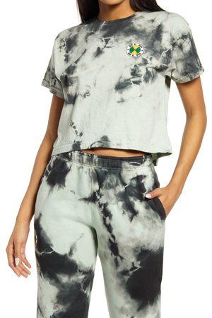 CROSS COLOURS Women's Women's Cxc Blm Crop Logo T-Shirt