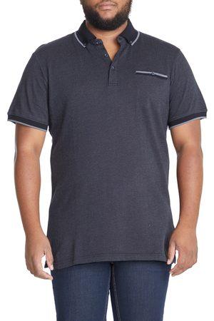 Johnny Bigg Men's Big & Tall Hudson Button-Down Pocket Polo