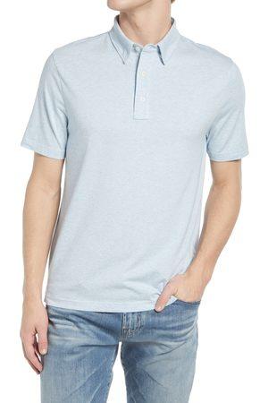 Faherty Men's Movement Stripe Short Sleeve Polo Shirt