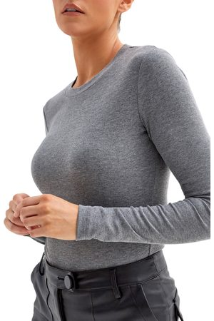 4th & Reckless Women Bodies - Women's Maye Long Sleeve Bodysuit