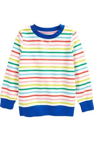 Boden Girls Sweatshirts - Toddler Girl's Kids' Stripe Sweatshirt