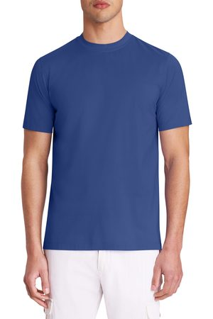 Bugatchi Men's Ooohcotton Crewneck Tech T-Shirt