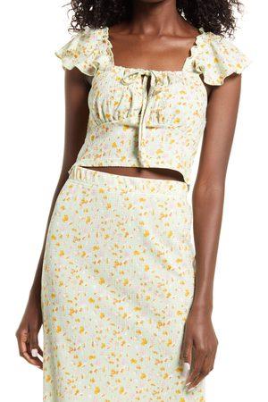 VERO MODA Women Crop Tops - Women's Lace Up Crop Top