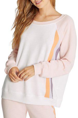 Wild Fox Women's Grapefruit Stripes Crewneck Sweatshirt
