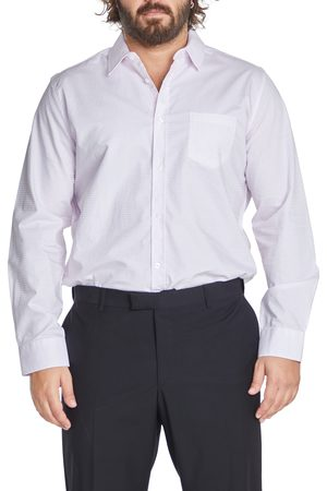 Johnny Bigg Men's Big & Tall Sterling Regular Fit Check Button-Up Shirt