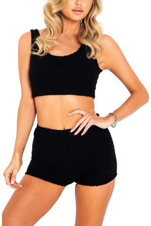Roma Confidential Women's Lounge Crop Tank & Shorts Set