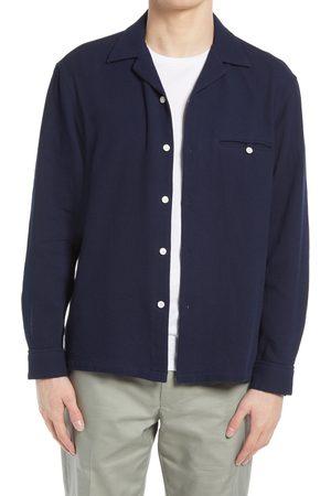CLUB MONACO Men Shirts - Men's Waffle Button-Up Shirt
