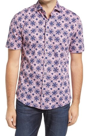 Johnnie-o Men's Codi Short Sleeve Button-Up Shirt
