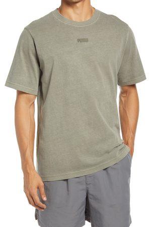 PUMA Men's mmq Earthbreak Logo T-Shirt