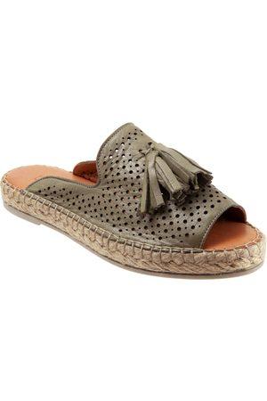 Bueno Women's Navar Tassel Slide Sandal