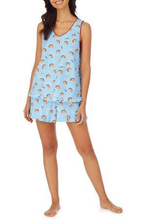 BedHead Women's Ruffle Trim Short Pajamas